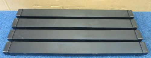 4x HP - Universal Rack Server Cabinet Black Blank Slot Filler Panel - 464695-001